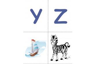 Дитячі ігри з англійським алфавітом. Картки