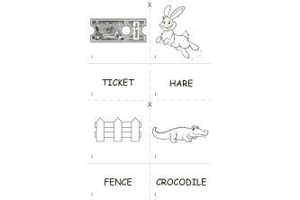 """Чорно-білий набір """"Англійська з Додо"""" + розмальовка із серії «Англійські слова граючи»"""
